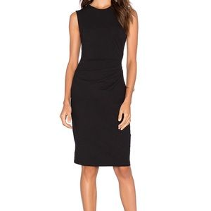 Theory Jorainna SL2 Dress in Black Sz S